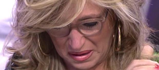 Lydia Lozano, entre lágrimas - telecinco.es