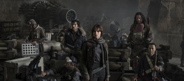 """Os rebeldes multirraciais de """"Rogue One - Uma História Star Wars"""""""