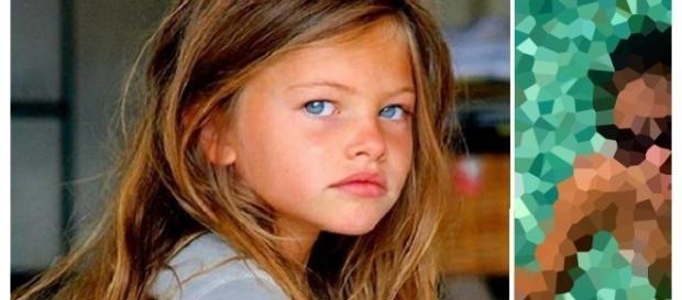 Thylane Blondeau foi considerada a criança mais bela do mundo