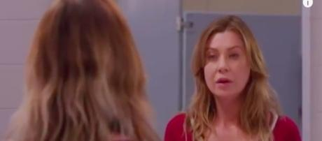 Grey's Anatomy episode 21,season 13 Meredith image via Andre Braddox