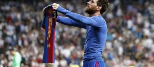 Barcelona 3-Real Madrid 2: La camiseta de Messi – Español - nytimes.com