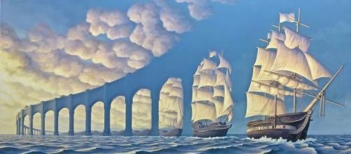 Belas imagens com ilusão de ótica