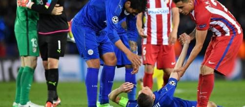 Champions League: Jamie Vardy In Vain As Atletico Madrid End ... - ndtv.com