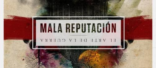 """""""El Arte de la Guerra"""", portada del nuevo disco de los asturianos Mala Reputación (2017, Rock Estatal Records)"""