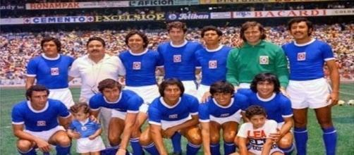 El Cruz Azul de los 70 vivió en el Azteca su mejor época