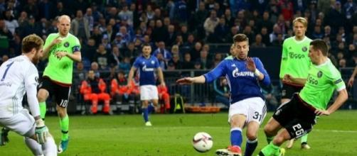 El gol en tiempo extra, le dio el pase a semis al Ajax. The Sun.co.uk.