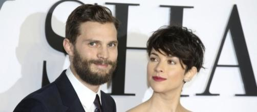 Is Jamie Dornan's alleged romance with Dakota Johnson too much for the actor's wife? (via Blasting News library)