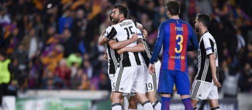 La Juventus festeggia l'impresa - FOTO: Juventus FC