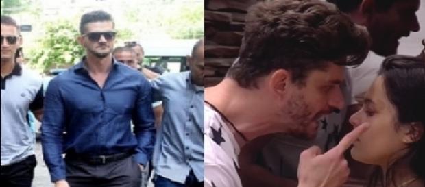 Marcos foi indiciado pela polícia após agredir namorada na casa