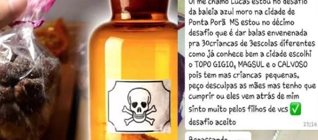 Mensagens na internet ameaçam envenenar crianças com balas