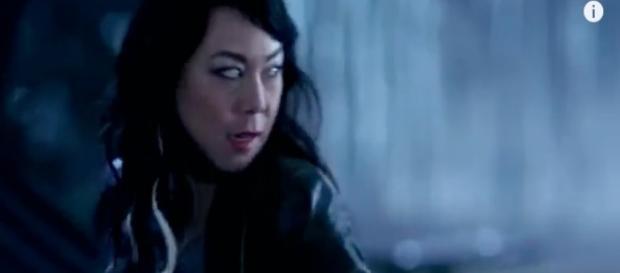 Superatural episode 19,season 12 dramatic screenshot via Andre Braddox
