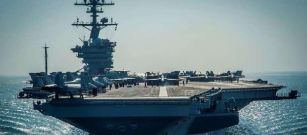 Y dónde está el portaaviones? La flota nuclear de Donald Trump ... - clarin.com