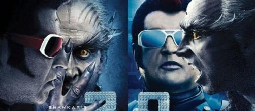 A still from Robo 2.0 movie starring Rajinikanth and Akshay Kumar