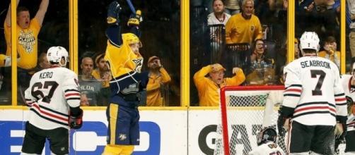 Jubilation for the Nashville Predators (NHL.com - Robby Stanley)