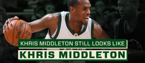 Khris Middleton had a team high 20 points in a dominant win over Toronto - nba.com