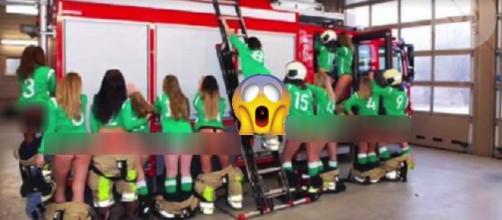 Les joueuses de l'équipe de football de Cothen réchauffent la toile !