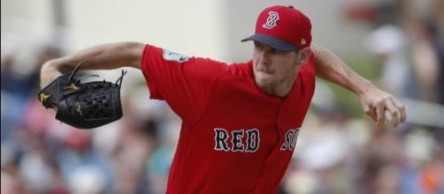 Newcomer Chris Sale makes Red Sox debut - CentralMaine.com - centralmaine.com
