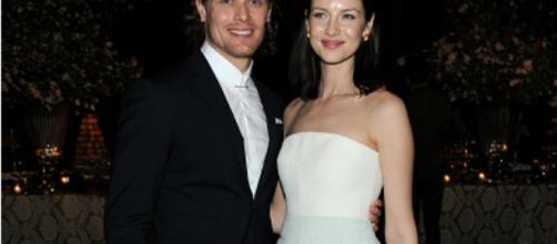 Outlander' stars Sam Heughan, Caitriona Balfe seen holding hands off