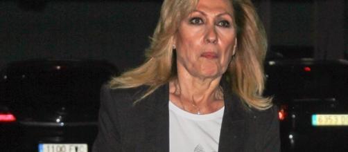 Rosa Benito de visita al hospital, 'no se contagia' de la polémica - europapress.es
