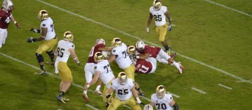 Stanford vs. Notre Dame/ Photo via Daniel Hartwig, Flickr