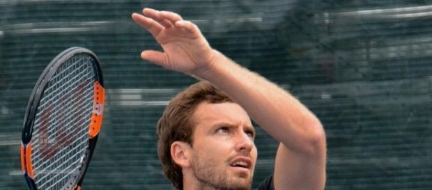 Ernests Gulbis, Montreal 2015. Photo by Kate -- CC BY-SA 2.0)