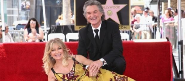Goldie Hawn & Kurt Russell Honored With Double Star Ceremony on ... - zimbio.com