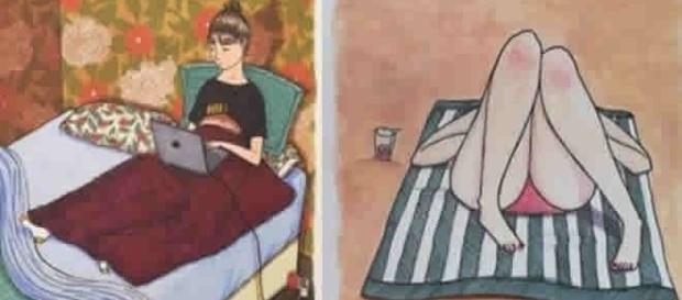 Imagens que mostram o que as mulheres fazem