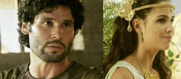 'O Rico e Lázaro': Asher diz ama Joana e Kassaia o agradece
