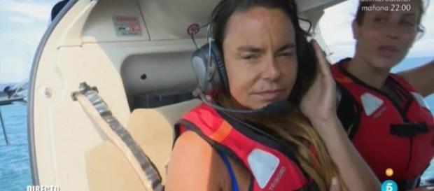 Supervivientes: Leticia Sabater se cae del helicóptero y el golpe ... - elconfidencial.com