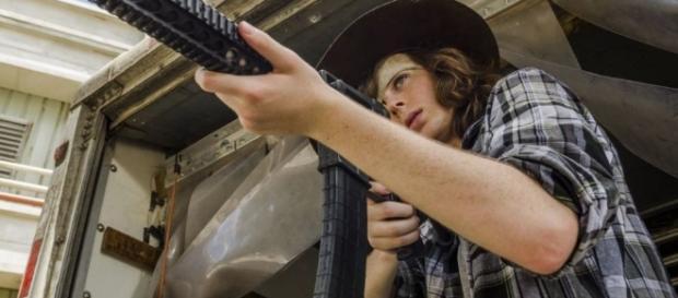 The Walking Dead season 8 – Chandler Riggs, aka Carl, has seen the ... - digitalspy.com