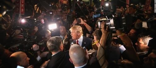 Donald Trump ditches his press pool again, spurring sharp / Photo by cnn.com via Blasting News library