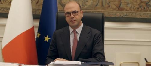 Il ministro degli Affari esteri, Angelino Alfano