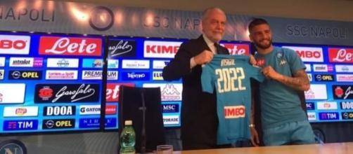 Insigne ha firmato il rinnovo fino al 2022. Tutti i dettagli sulla conferenza stampa appena conclusa. - Copyrights: SSC Napoli