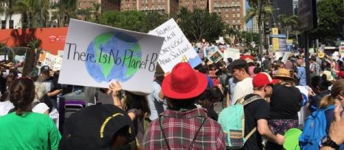 The March for Science gathered thousands in LA/Photo via Rita Guerra