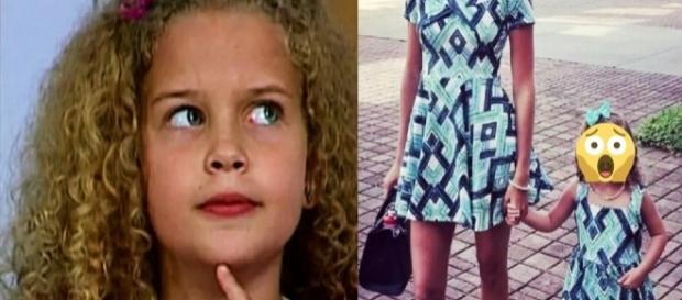Debby cresceu e tem uma filha igualzinha