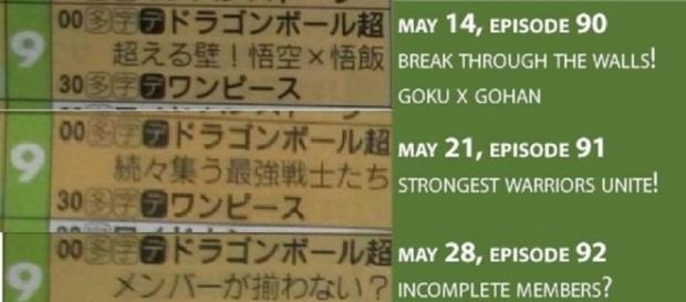 'Dragon Ball Super' latest spoilers: episodes 90, 91,92; titles & schedules (@KenXyro/Twitter)