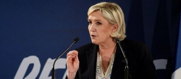 Marine Le Pen is a far right-wing candidate/Photo via inquisitr.com