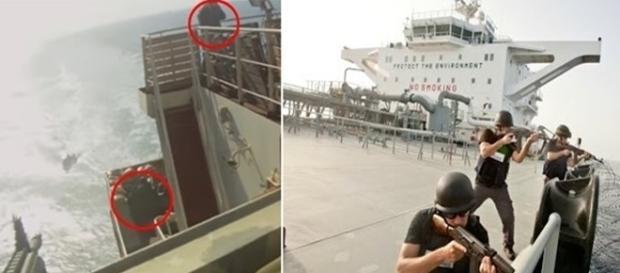 Navio foi atacado por piratas que tentavam roubar embarcação próximo à Somália