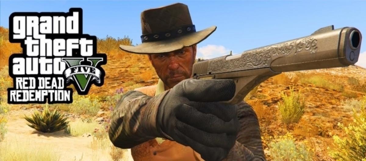 Red Dead Redemption V' mod in GTA 5 abolished