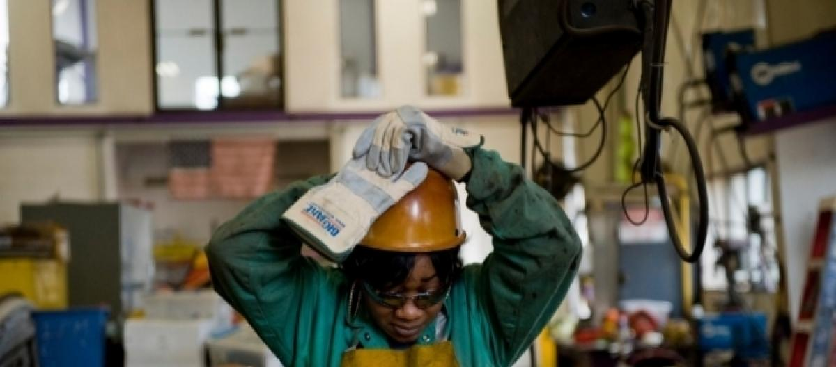 Baby boomers affect male-dominated industries in America