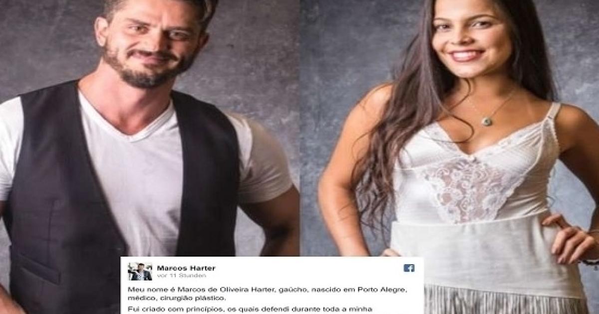 44319b0afa38 BBB17: Marcos divulga carta no Facebook onde diz que está farto de mentiras