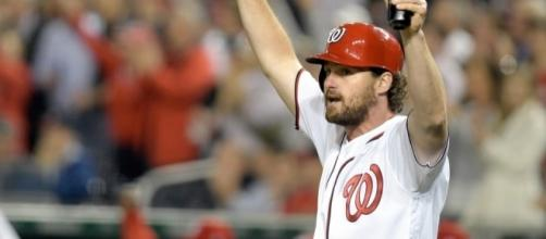 Daniel Murphy is batting .450 with an on-base plus slugging that ... - pinterest.com