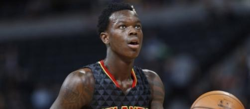 Dennis Schroder helped lead the Hawks to a Game 3 victory in Atlanta. [Image via Blasting News image library/inquisitr.com]