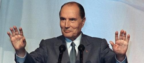 Francois Mitterrand, presidente di Francia dal 1981 al 1995