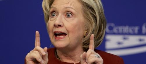Hillary slips after 'creepy' hug from Biden - wnd.com