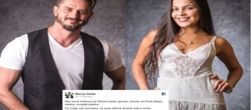 Marcos divulga carta sobre Emilly no Facebook