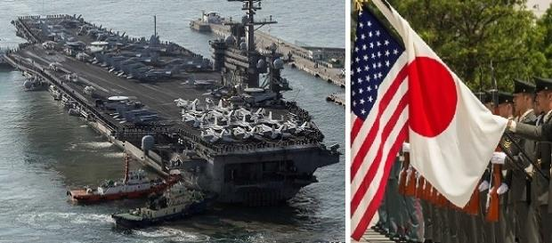 Treinamento militar envolve a comunicação entre as frotas