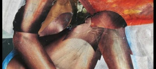 """Una delle opere della mostra """"Stranacarne"""""""