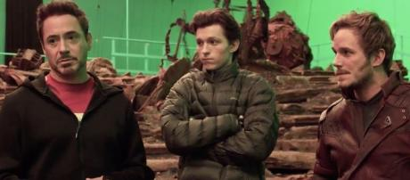 First Look: Marvel Releases 'Avengers: Infinity War' Production ... - theplaylist.net