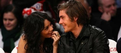 """Are Zac Efron and Vanessa Hudgens going to reprise their roles in """"High School Musical 4""""? (via Blasting News library)"""